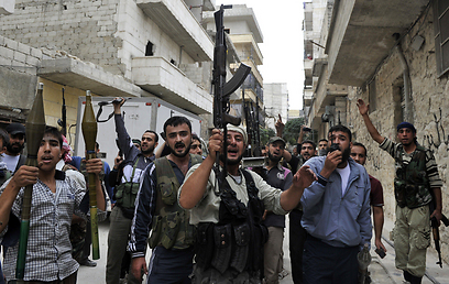 Syrian rebels in Aleppo (Photo: AFP) (Photo: AFP)