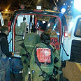 Scene of accident Photo: Hatzalah Judea and Samaria