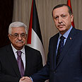 Abbas with Turkish PM Erdogan Photo: Reuters