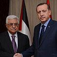 Abbas with Turkish PM Erdogan Photo: Reuters