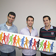 Tomigo founders Tal Moran, Nimrod Moran and Lior Atias Photo courtesy of Tomigo