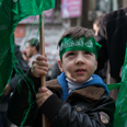 Hamas celebrates 25th anniversary in West Bank Photo: Ohad Zwigenberg