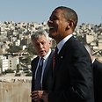 Clear message. Obama and Hagel (archives) Photo: Reuters