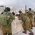 IDF troops in Hebron Photo: George Ginsburg