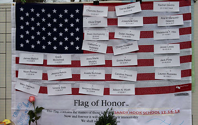 Names of Newtown massacre victims (Photo: AFP)