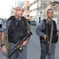 Police on scene Photo: Ofer Amram