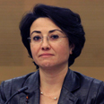 Hanin Zoabi Photo: Gil Yohanan