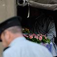The casket Photo: Benny Deutsch