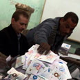 Counting ballots in Egypt Photo: Reuters