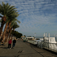 Archive: Kinneret boardwalk Photo: Hagai Aharon