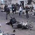 Air strike on a bakery in Syria Photo: Reuters