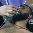 Syrian treated for gas inhalation