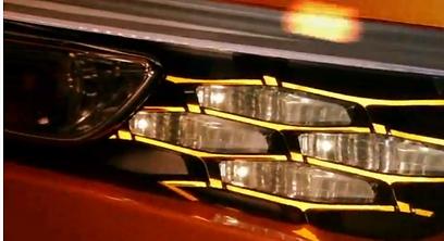 יחידת תאורה קדמית, מתוך הסרטון ()