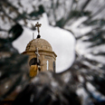 Damage north of Damascus Photo: AP