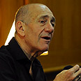 Ehud Olmert Photo: Motti Kimchi