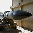 Syrian missile seized by rebels Photo: Reuters