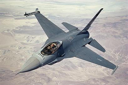 מטוס f-16. תקרית שלישית בין שתי המדינות תוך פחות משנתיים (צילום: gettyimages)