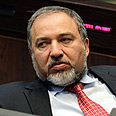 Lieberman in plenum Photo: EPA