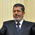 'Good first step.' Morsi Photo: AFP