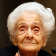 Rita Levi-Montalcini. Kept an intensive work schedule well into old age Photo: AP