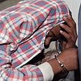Suspect in court, Monday Photo: Moti Kimchi