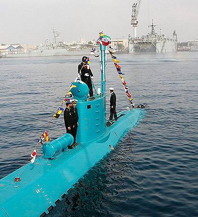 צוללת קלה איראן Photo: AFP