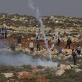 Clashes in Esh Kodesh Photo: Alex Kolomoisky
