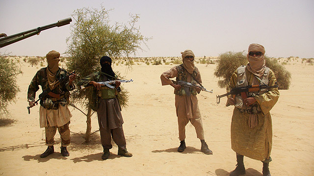 Al-Qaeda officers in Mali (Photo: AFP)