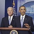 Biden (L) with Obama Photo: AP