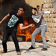 Palestinian riotes in Tamnoun Photo: Reuters
