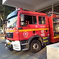 Fire truck Photo: Tom Ziv