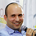 Naftali Bennett in Kiryat Ono Photo: Amir Levy