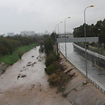 River threatens to overflow Photo: Ofer Amram