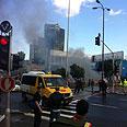 Scene of blast Photo: Olga Lavi