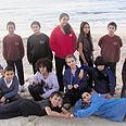 ילדי פלמחים. למען החוף צילום: אופיר דקל