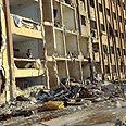 Scene of the blast Photo: AFP
