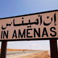 On the way to Amenas Photo: AFP