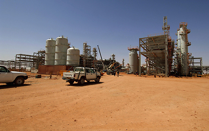 In Amenas gas plant (Photo: AFP)