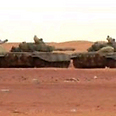 Algerian tanks near gas plant Photo: Reuters