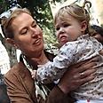 Livni with potential voter? Photo: Sodavideo