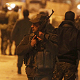 Palestinian security forces in Ramallah Photo: AFP