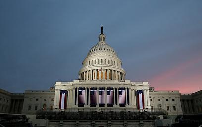 וושינגטון לפני הטקס (צילום: AFP)