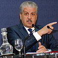 Algerian PM Sellal at press confrence Photo: AFP