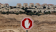 West Bank settlement Photo: Reuters
