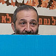 Deri at the ballot Photo: Ohad Zwigenberg
