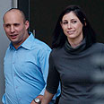 Bennett and wife go to vote Photo: Benny Deutsch