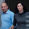 Bennett and wife go to vote Photo: Benny Deutsch