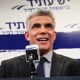 Lapid victorious Photo: Avishag Shaar-Yashuv