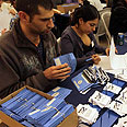 Counting votes Photo: Gil Yohanan