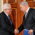 Abbas (L) and Netanyahu (archives) Photo: AFP